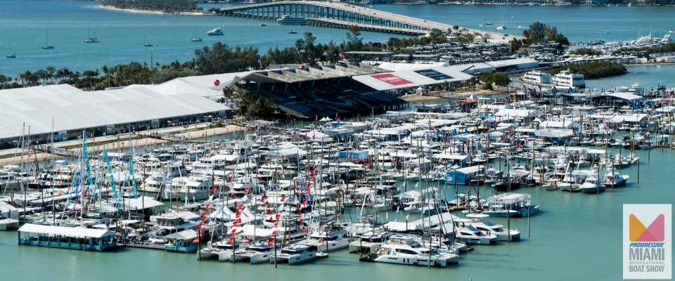 MIAMI INTERNATIONAL BOAT SHOW 2019 - 14 á 18 de fevereiro.