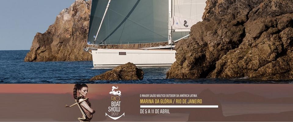 RIO BOAT SHOW 2017 / MARINA DA GLÓRIA - 05 á 11 de abril.