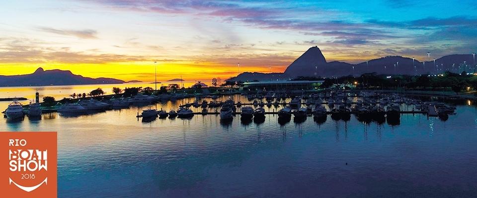 RIO BOAT SHOW 2018 / MARINA DA GLÓRIA - 14 á 22 de abril.