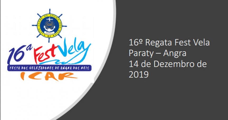 16º FESTVELA / REGATA PARATY - ANGRA 2019
